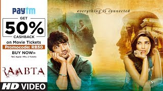 Raabta →  In Cinemas Now | Book Your Tickets | Sushant Singh Rajput & Kriti Sanon