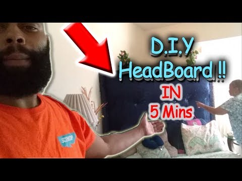 2018 DIY Creative Bedroom Decorating Ideas: DIY Headboards in 5 Mins