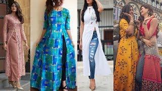 Latest Fashion Most Stylish Different Types of Slit Kurti Designs 2018 - 2019