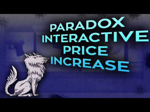 The Paradox Interactive Price increase