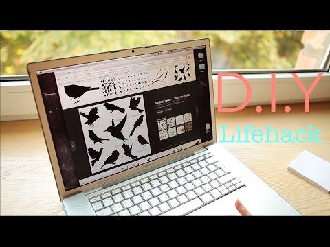 D.I.Y lifehacks: как перевести картинку без принтера. How to transfer a template without printing
