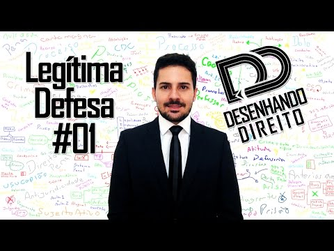 Direito Penal - Art 25 CP - Legítima Defesa #01
