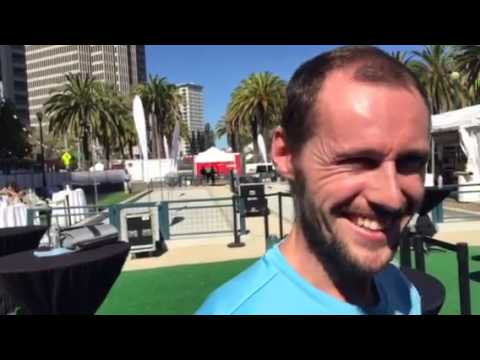 Nick Matthew, Greg Gaultier At NetSuite Open SF - Zennie62