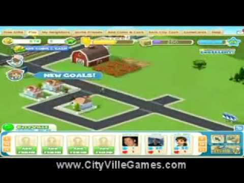 CityVille In Game Footage Latest Games From Zynga