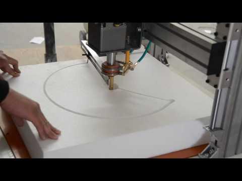CNC Hot Wire Foam Cutting Machine