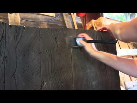 Wood Grain Carved Foam Painting Tutorial - Haunt Update!