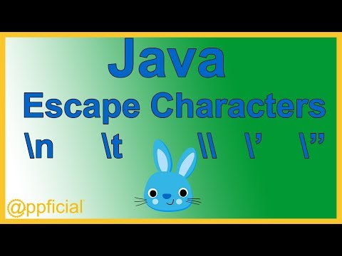 Java Escape Characters - Newline Backslash Single and Double Quote Escape Sequences - Java Tutorial