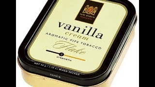 Tobacco Review : MacBaren (Vanilla Cream Flake)