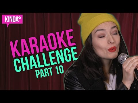 NATASHA SINGS MORE MOVIE SOUNDTRACKS! | Karaoke Challenge | KindaTV