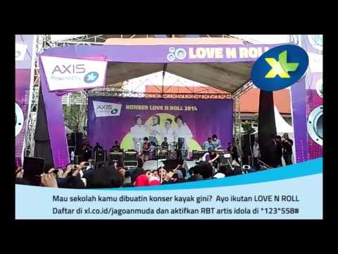 Konser Kick-Off Love N Roll 2014 Vierratale
