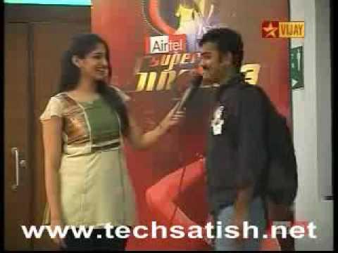 Airtel Super Singer 3_5th Level Auditions_Krishna Sridharan_Kanden Kanden