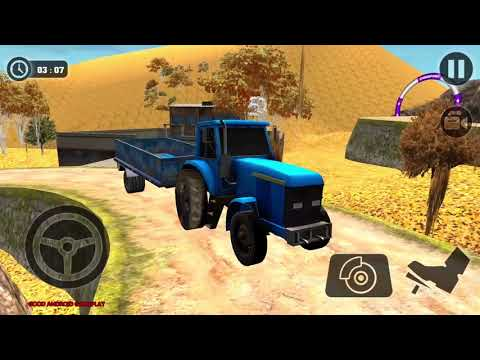 Tractor Cargo Transport Driver Farming Simulator - NEW Tractor Unlocked Android GamePlay FHD