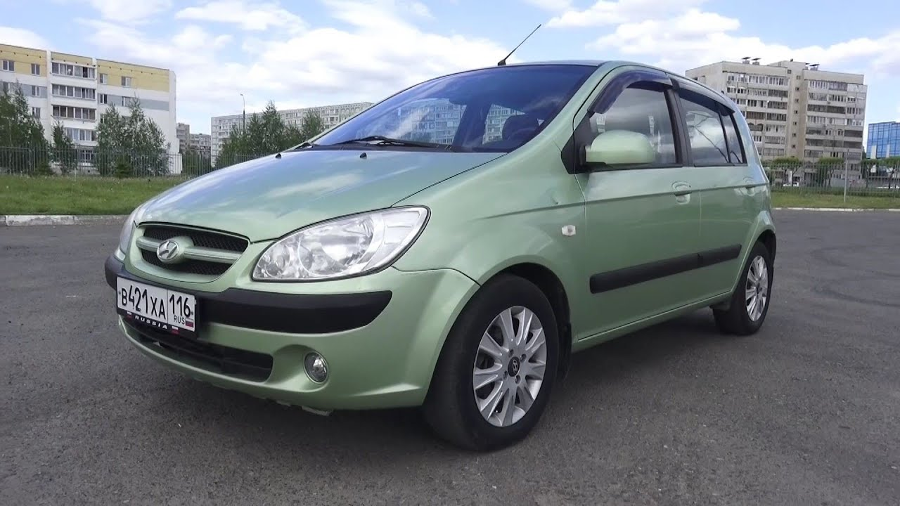2006 hyundai getz 1 6 at start up engine and in depth. Black Bedroom Furniture Sets. Home Design Ideas