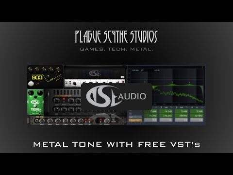 Modern Metal w/ Free TSE Audio VST's - Tutorial