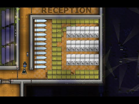 How to use labor inside your prison -how to give your prisoners jobs and more in Prison Architect