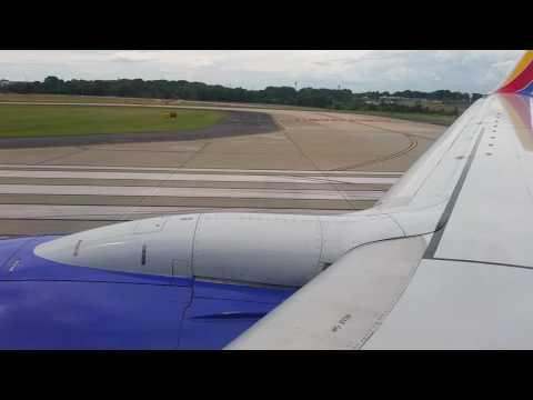 Southwest Boeing 737-700 Takeoff-Hartsfield–Jackson Atlanta International Airport