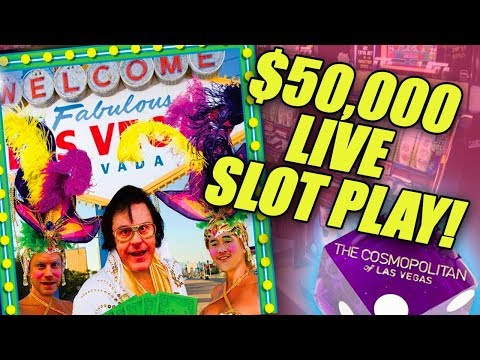 Largest Ever $50000 Live Slot Play @ The Cosmo In Las Vegas | Viewer Record Breaker 💰💣🤑