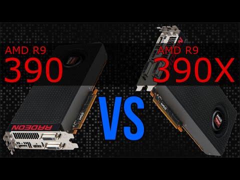 AMD R9 390 vs R9 390X