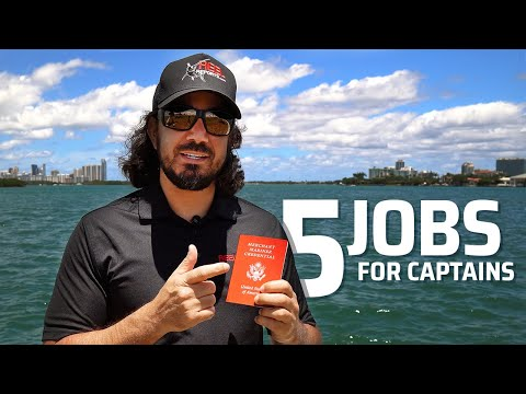 5 WAYS TO MAKE MONEY WITH CAPTAINS LICENSE