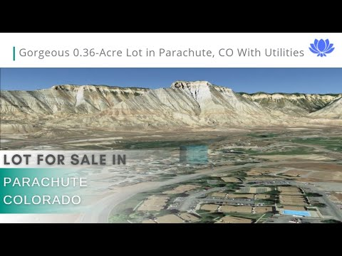 Gorgeous 0.36-Acre Cul-De-Sac Lot In Parachute, CO With Utilities!