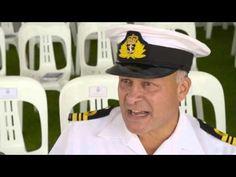 Royal New Zealand Navy Veterans' Day 22 January 2016