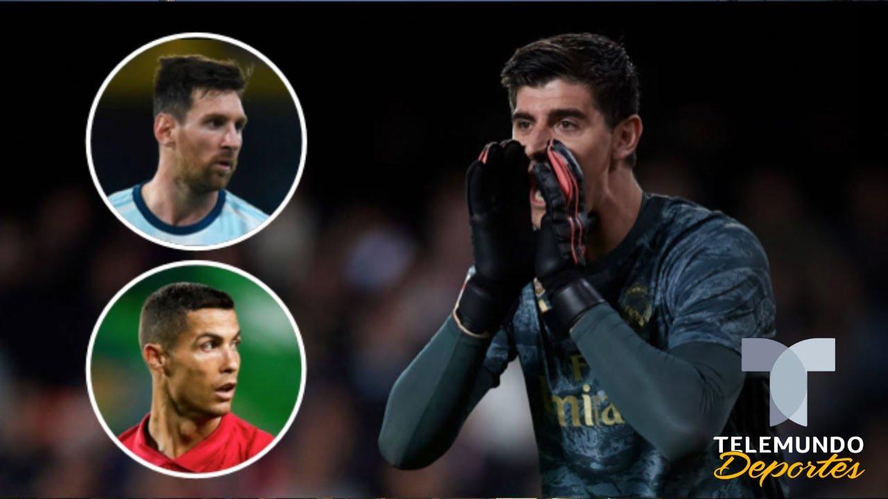 ¿Messi o Cristiano Ronaldo? La genial respuesta de Thibaut ...