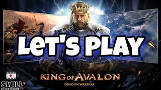 King of Avalon: Dragon Warfare | part 1 | let's play