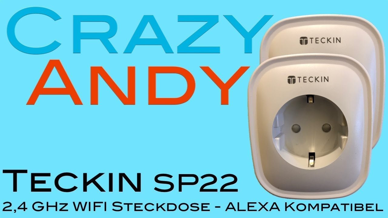 Teckin Sp22 Wifi Steckdose Review Test Youtube