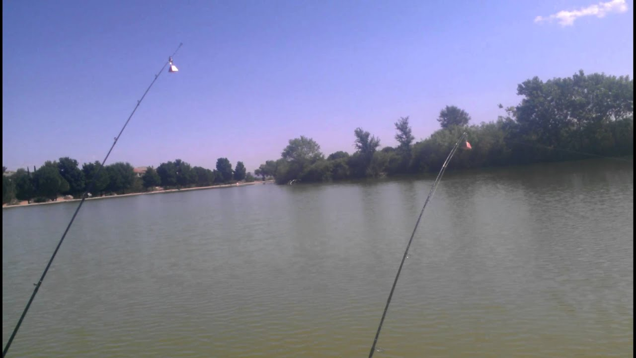 Fishing at hesperia lakes youtube for Hesperia lake fishing report