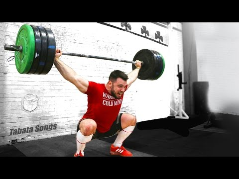 CrossFit Tabata- W/Aleksey Torokhtiy (Olympic Champion)