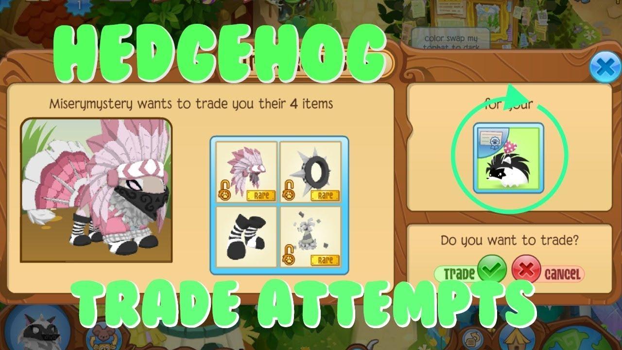 Animal Jam: Trading Attempts For Pet Hedgehog (2018)