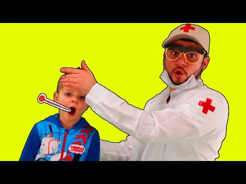 Miss Polly Had a Dolly | Sick Song | Health Care | Doctor Song by Mirik Yarik and Papa #1
