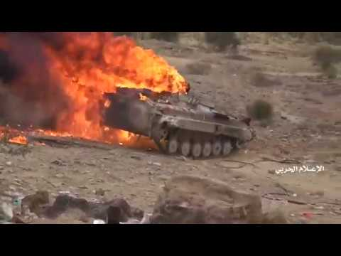 YEMEN 02 02 2020 HOUTHIS DESTROYED THE SAUDI COALITION(WARNING 18+)