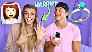 We're Getting Married?!