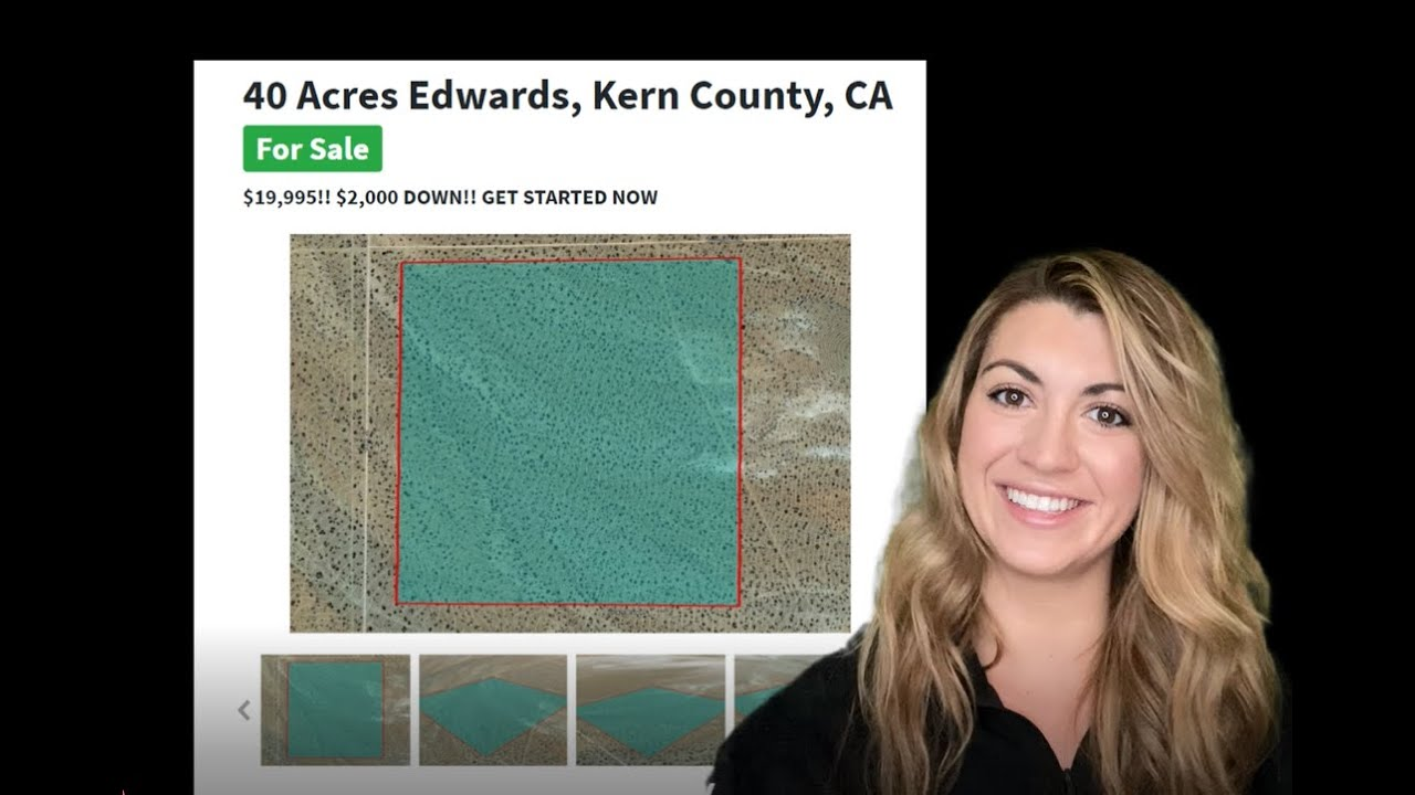 40 Acres Edwards Properties, Kern County, California - Edwards Property for Sale