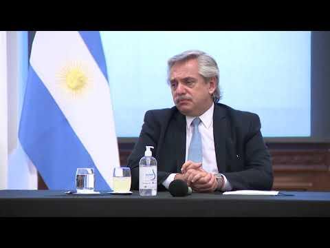 Bordet y Alberto Fernández firmaron un acuerdo que para construir viviendas y generar empleo