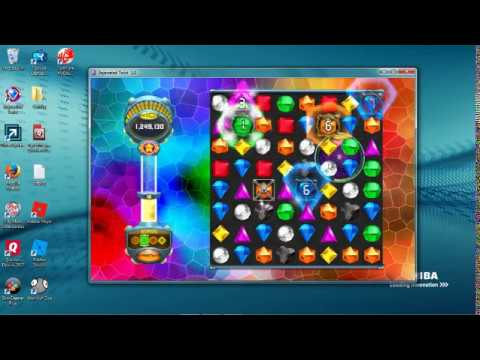 Most stressful game of Bejeweled Twist |