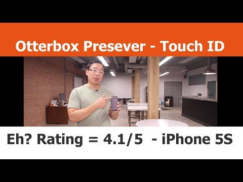 Otterbox Preserver Case with Touch ID - Score = 4.1/5 - iPhone Cases
