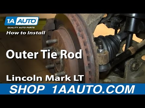 How To Replace Outer Tie Rod 04-08 Ford F150