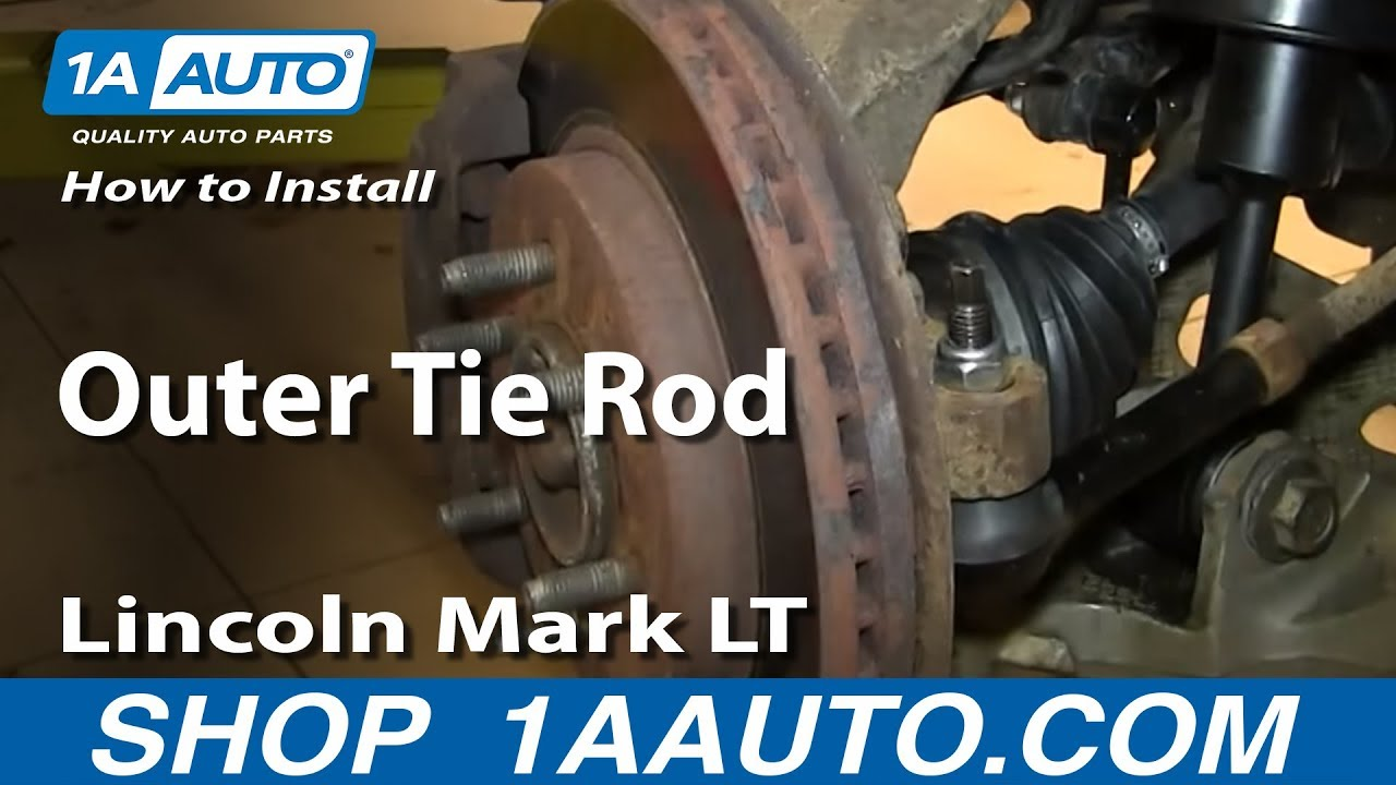 How To Install Replace Outer Tie Rod 2004 08 Ford F150