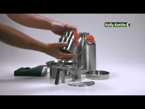 Комплекты Kelly Kettle.  http://kelly-kettle.ru