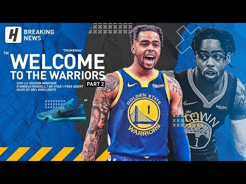 D'Angelo Russell Traded to the Warriors! BEST Highlights & Moments from 2018-19 NBA Season! Part 2