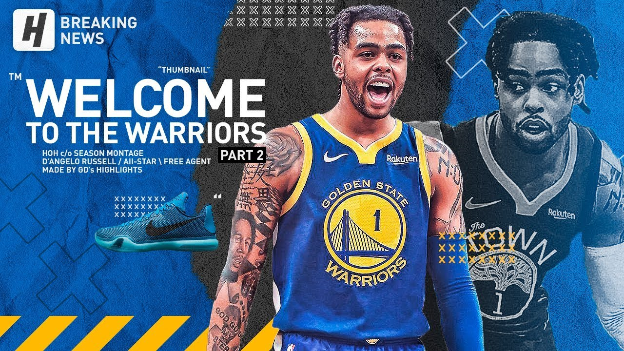 D'Angelo Russell Traded to the Warriors! BEST Highlights & Moments from 2018-19 NBA Season!
