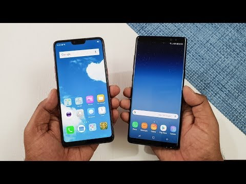 Oppo F7 vs Samsung Galaxy Note 8 Speed Test | Which is Faster !