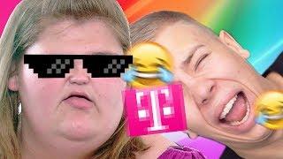 Die LUSTIGSTE YouTube KAKE! NICHT LACHEN Challenge mit Rewinside