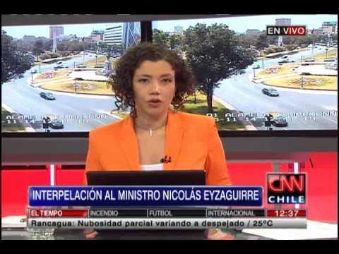 Ministro Eyzaguirre será interpelado mañana por la oposición