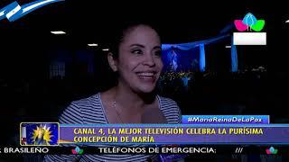 Canal 4, la mejor televisión celebra La Purísima Concepción de María