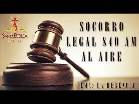 SOCORRO LEGAL 840 LA HERENCIA