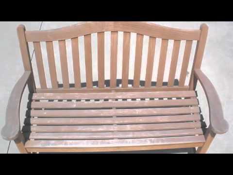 Orange County Teak Furniture Restoration Before and