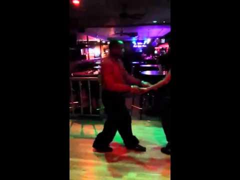 Audra Lynn and Rich Jackson Steppin workout